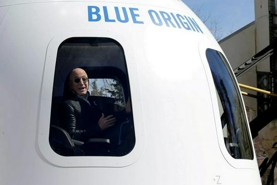 蓝色起源载人太空旅行项目获FAA批准贝索斯即将前往太空